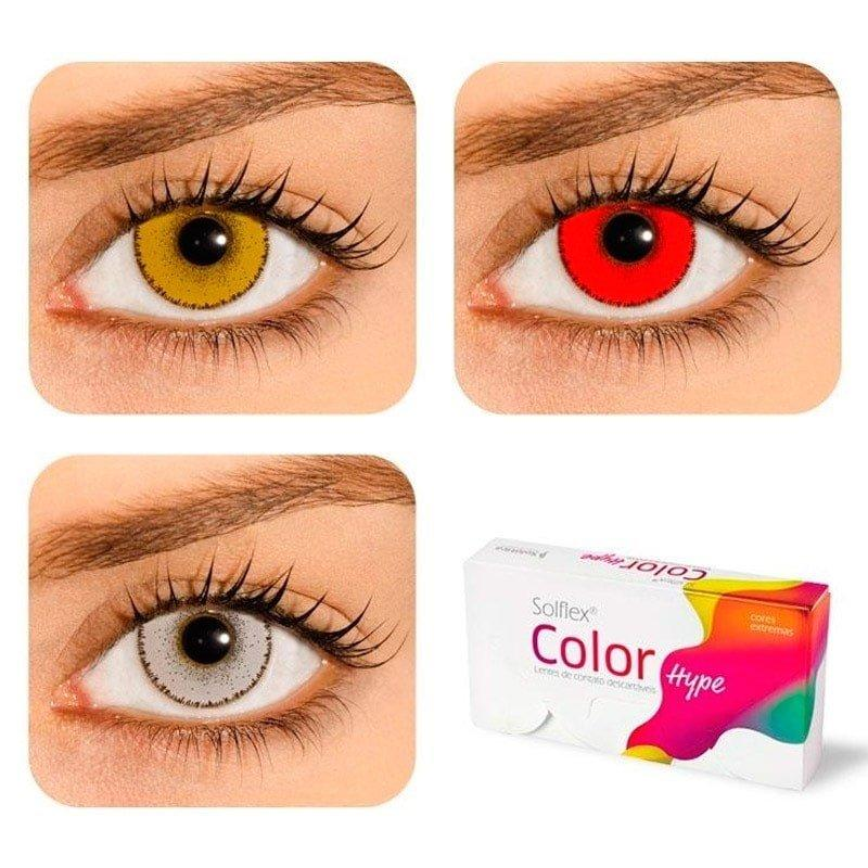 Lentes de Contato Coloridas Solflex Color Hype - Solótica R  84,90 à vista.  Adicionar à sacola 34e23bfaaf