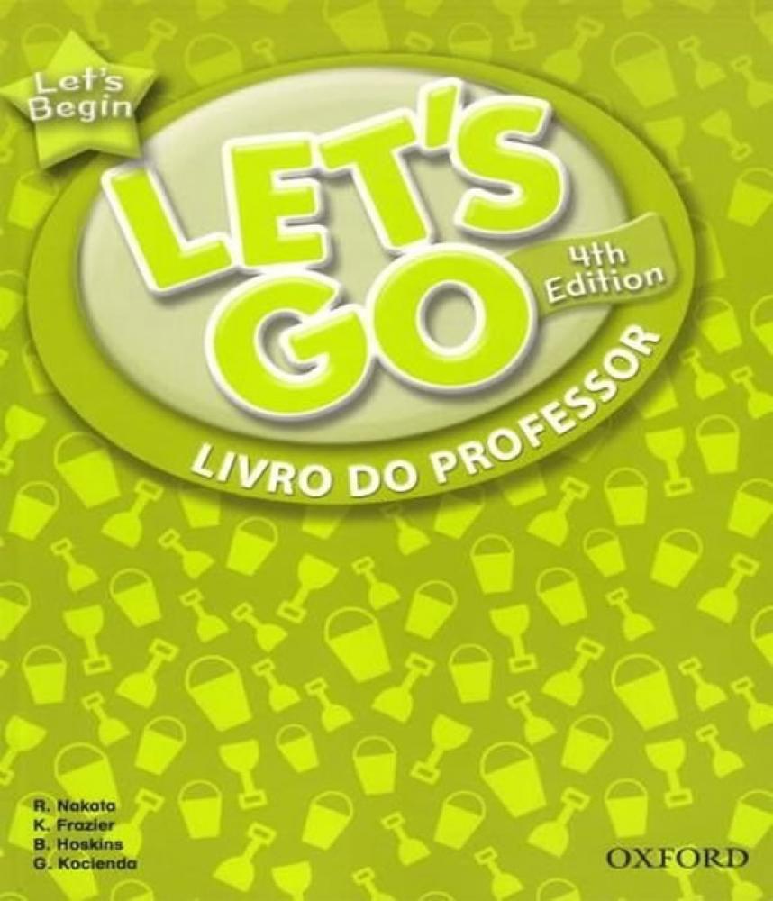 Begin let go teacher book let