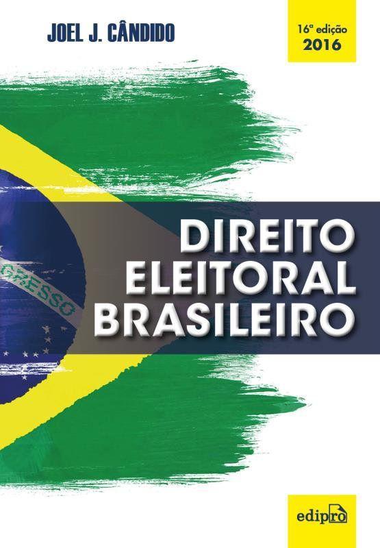 Livro - Direito eleitoral brasileiro - Livros de Direito - Magazine Luiza