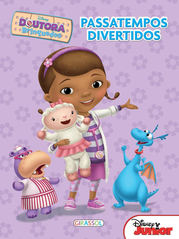 Livro Disney Passatempos Divertidos Doutora Brinquedos