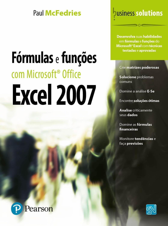 Livro   Fórmulas e Funções com Microsoft® Office Excel 20