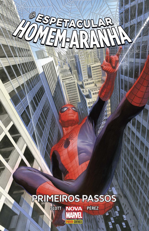 Livro O Espetacular Homem Aranha Primeiros Passos Vol 2