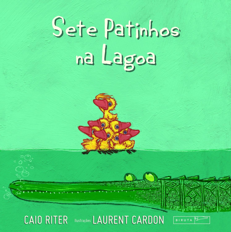 Livro Sete Patinhos Na Lagoa Livros De Literatura Infantil