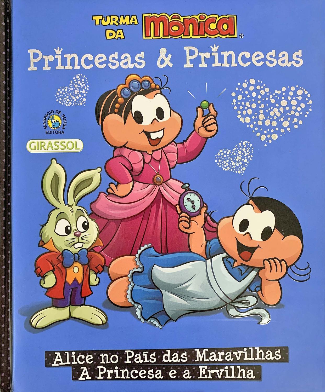 Livro Turma Da Monica Princesas Princesas Livros De