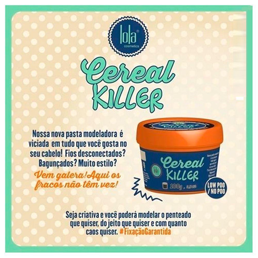 3d0109245 Lola Cosmetics Cereal Killer - Pasta Modeladora - Cabelo e maquiagem ...