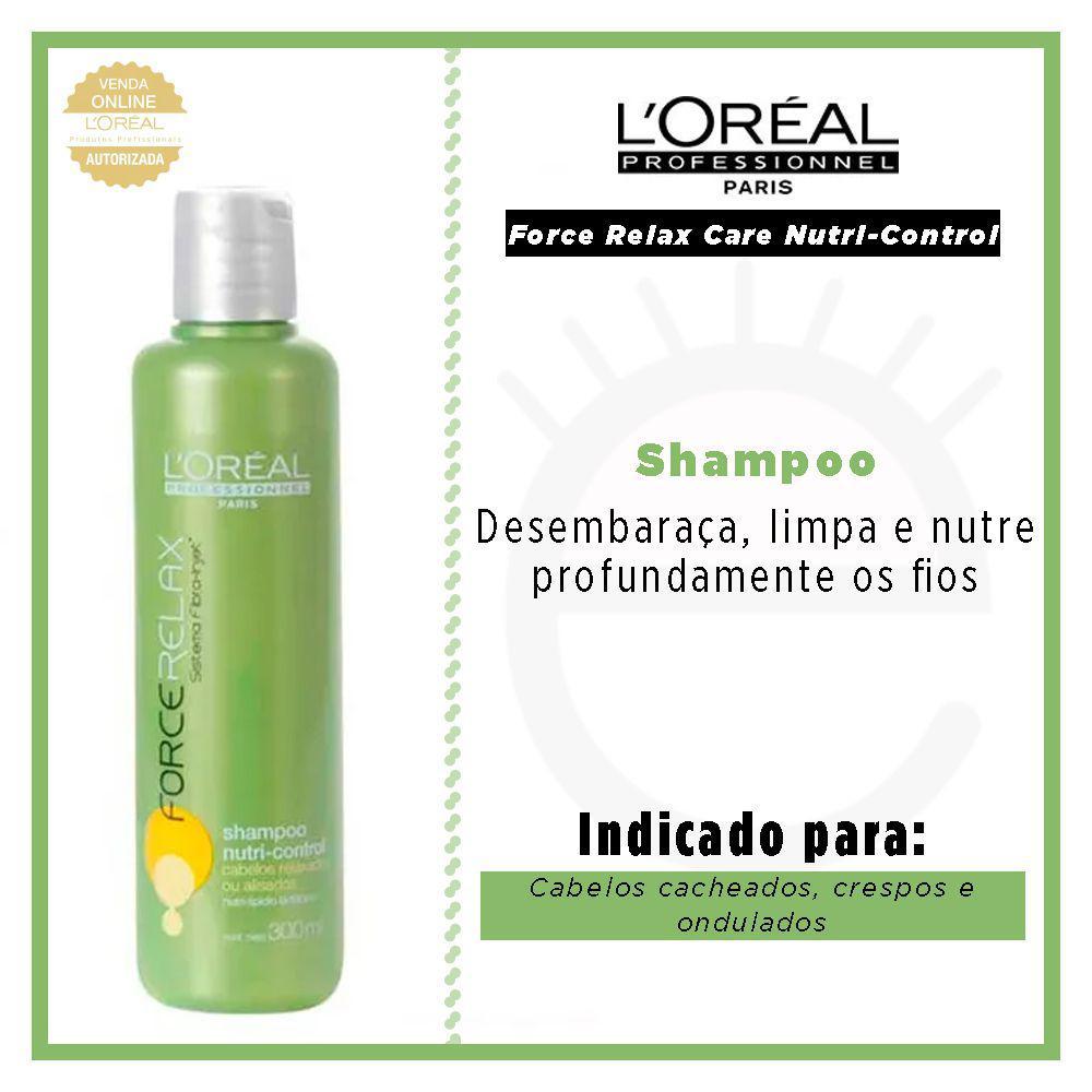 013a8b990 LOréal Professionnel Force Relax Care Nutri-Control - Shampoo R$ 84,60 à  vista. Adicionar à sacola