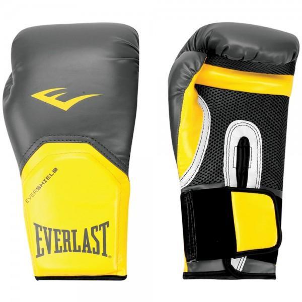 9ff5b33648 Luva Boxe Everlast Pro Style Elite Training 16 OZ - 1200861 Preto Amarelo