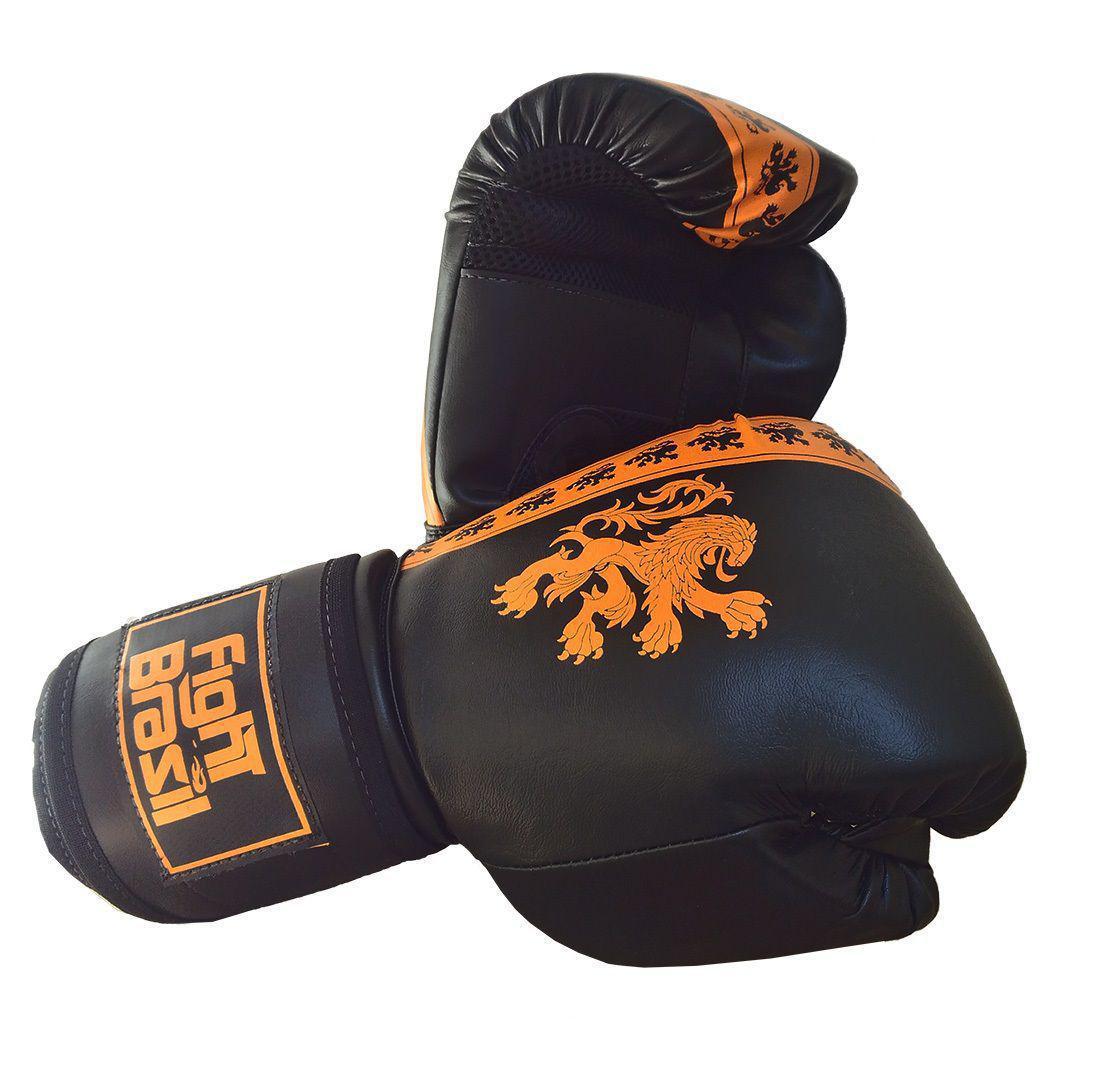 048f247be Luva Boxe Luva Muay Thai 14 Oz Fight Brasil Holanda - Luva de Boxe ...
