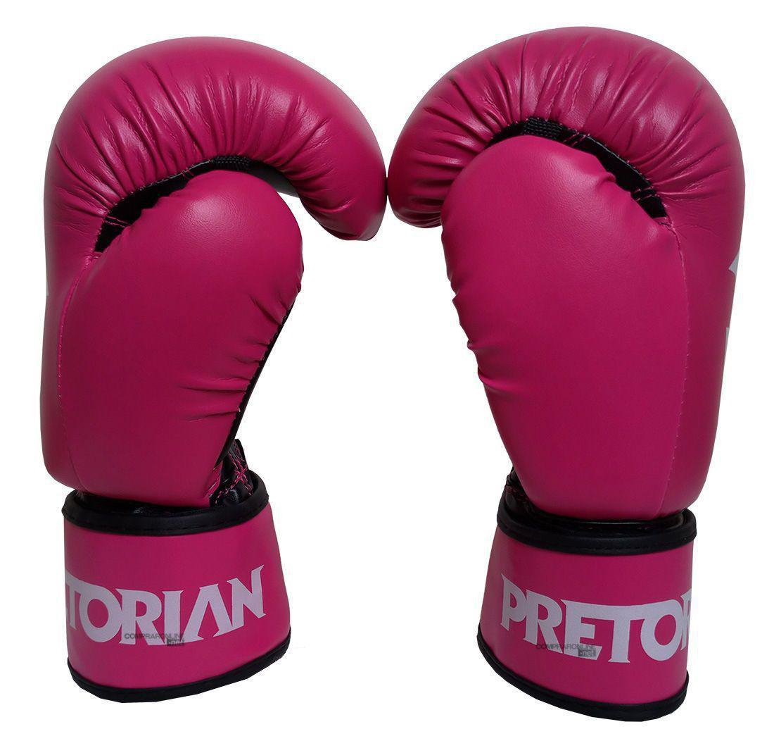 e12e4df08 Luva Boxe Luva Muay Thai Pretorian First 12 Oz Feminino Rosa - Luva ...