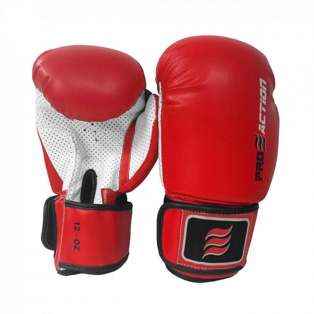 951b673ba Luva de Boxe e Muay Thai Profissional 12 Oz Vermelha Proaction R  117