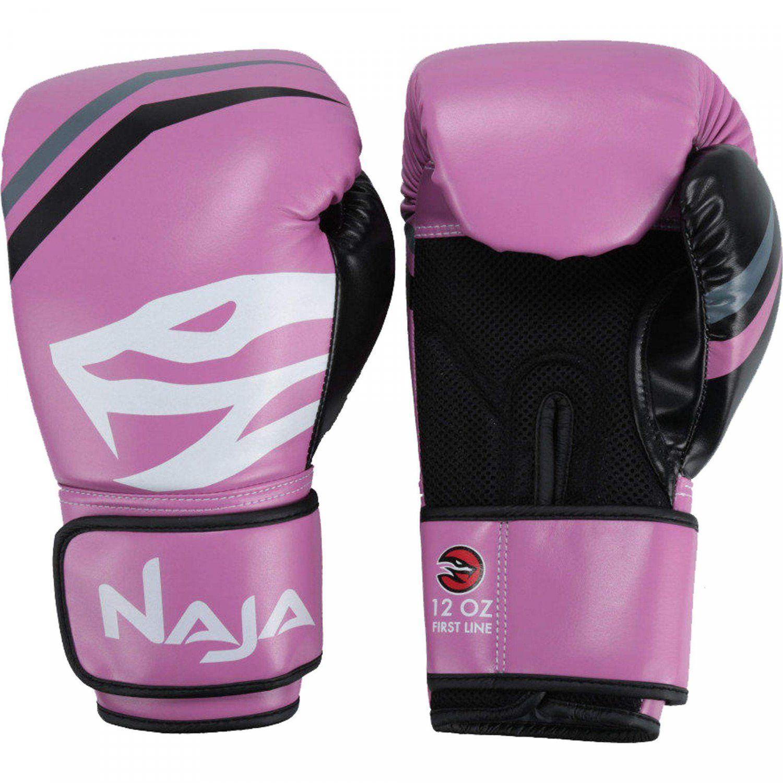 6595de0f0 Luvas de Boxe e Muay Thai First 10OZ Naja Rosa Produto não disponível