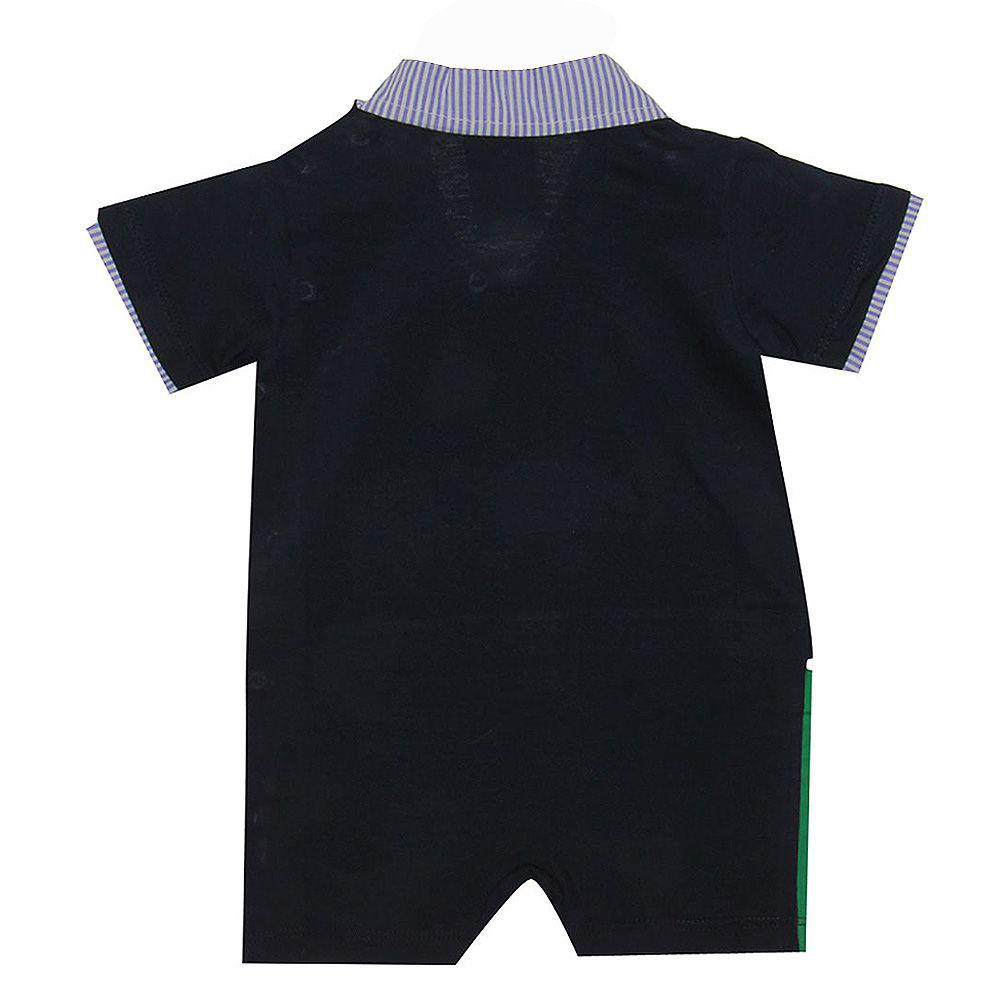 Macacão Conjunto Menino Azul - Cachorrinho Esperto - Beka Baby - Keko baby  R  66 5f7008a9f62