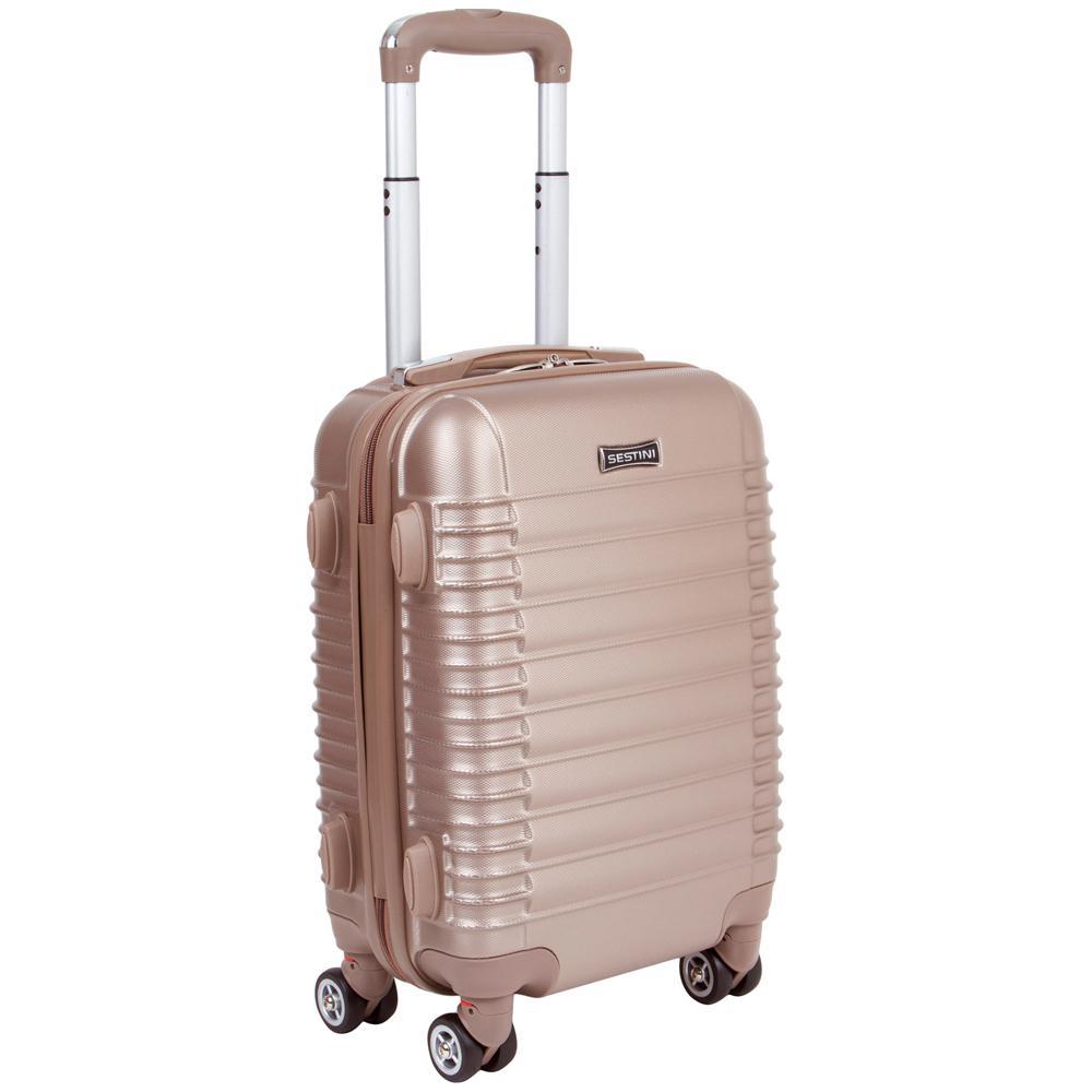 3c4e3abe687 Mala de Viagem Pequena 360 Premier 1T Bronze com Cadeado Sestini Produto  não disponível