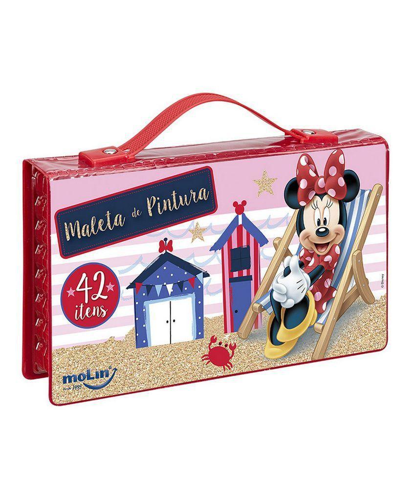 4e6f0f5be Maleta de Pintura Minnie 42 itens - Molin R$ 39,90 à vista. Adicionar à  sacola