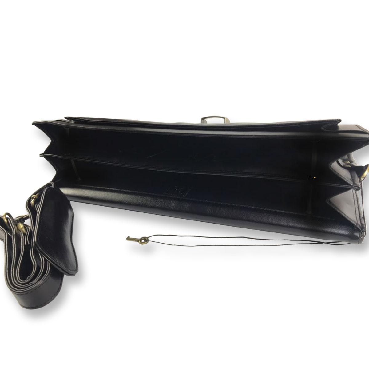 7ec82f6ef Maleta Executiva Vintage Design Notebook Luxcel EX20006LX-Preto R$ 239,90 à  vista. Adicionar à sacola