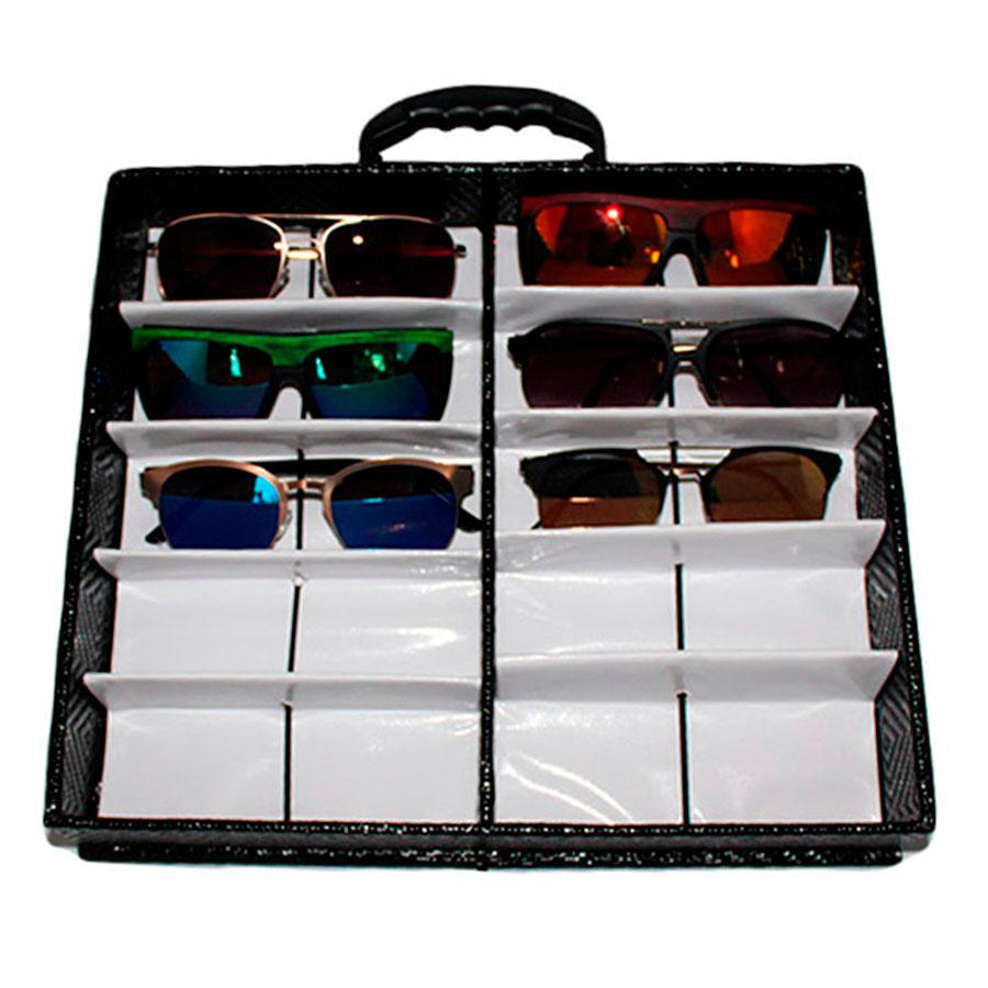 Maleta Expositora com Alça e Suporte para 10 Óculos MS210C - Zoke R  105,30  à vista. Adicionar à sacola 1e1202b107