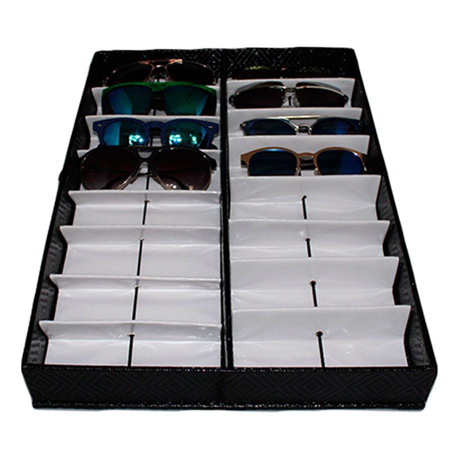 Maleta Expositora com Suporte para 16 Óculos MS16C - Zoke R  145,80 à  vista. Adicionar à sacola f5f0537166