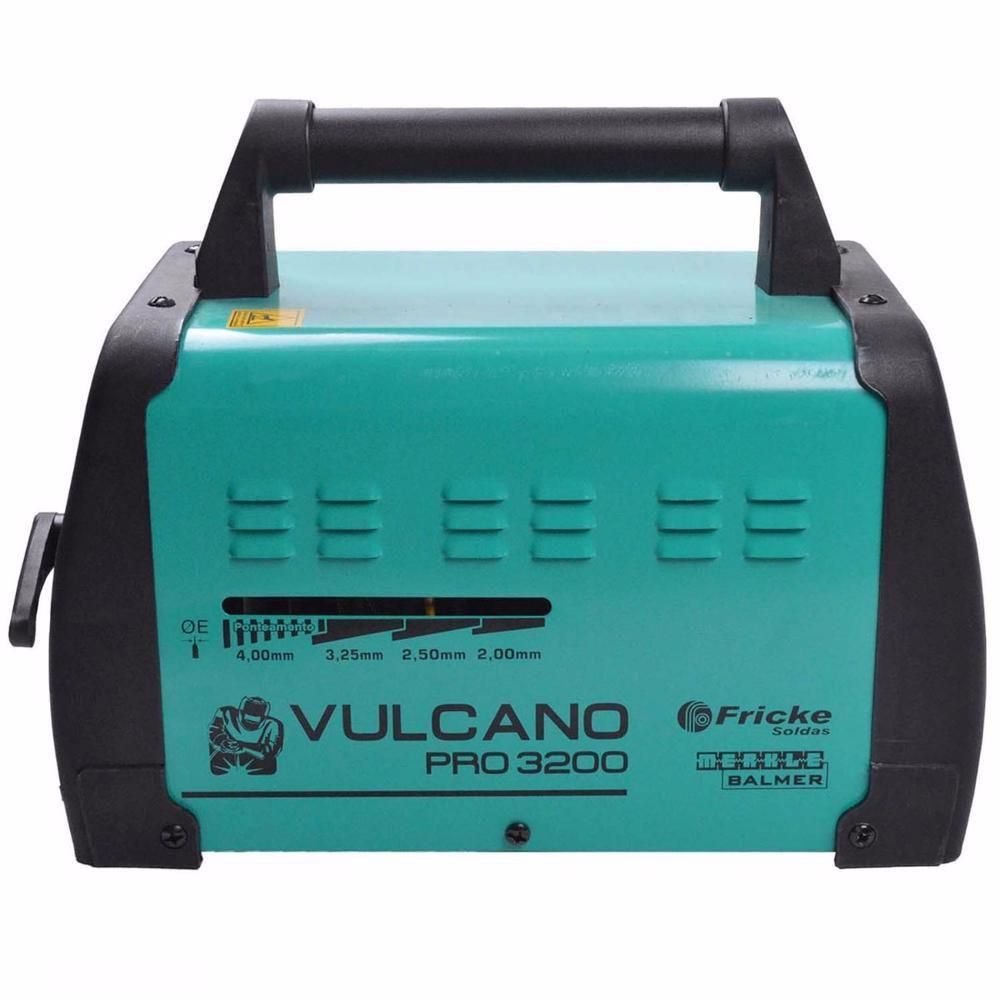00870c3569c Maq. solda transformadora vulcano pro 320 mono 110 220 balmer R  348