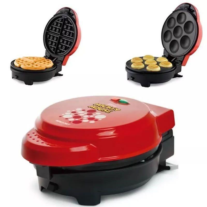 fdaea3584 Máquina Cupcakes Omeleteira E Waffle Mickey Mallory 5 Em 1 - Cozinha ...