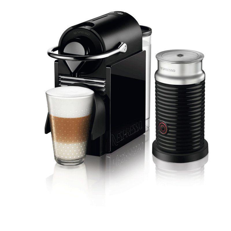 Máquina de Café Nespresso Pixie Clips Preta e Verde Neon 220v com ...