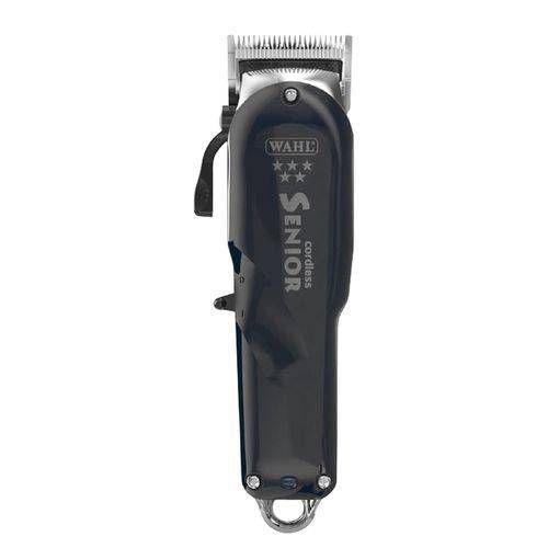 2cd00cc73 Máquina De Cortar Cabelo Wahl Senior Black Cordless Sem Fio Bivolt R$  789,20 à vista. Adicionar à sacola