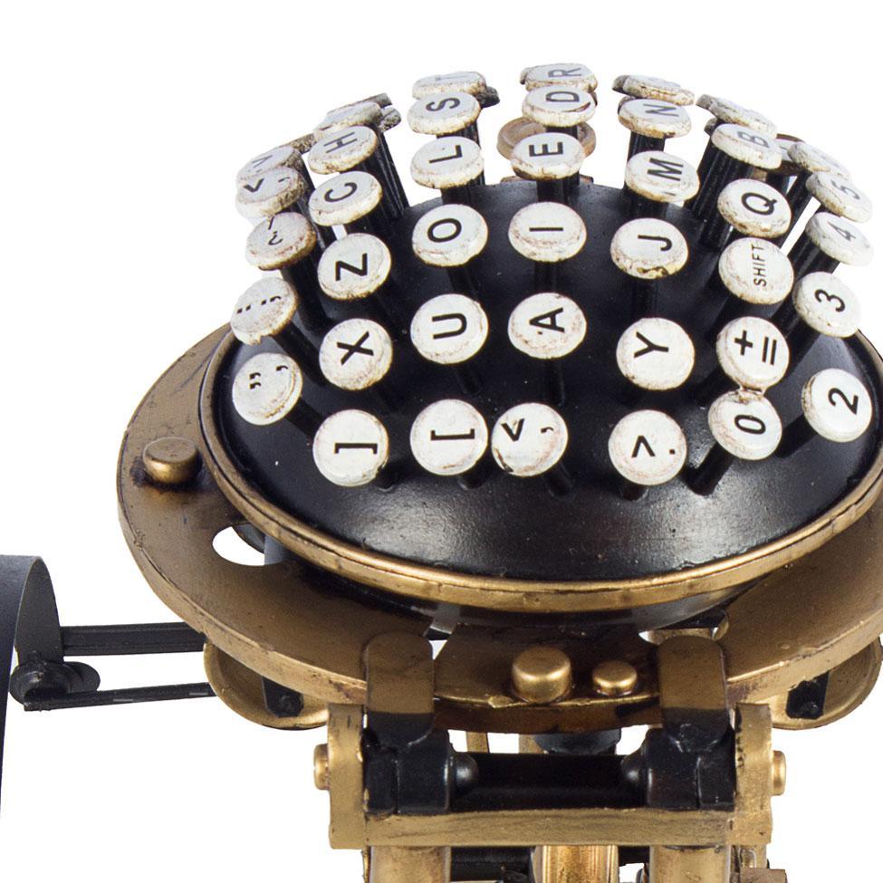 Máquina Escrever Vintage Oldway 20,5x20,5x23 - Objetos decorativos ... 5cb8e982cf