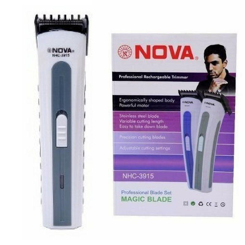 204aee14c Máquina Nova Corta Cabelo Fazer Barba Pezinho Recarregável R$ 69,00 à  vista. Adicionar à sacola