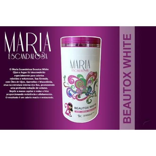 e72a5ad81 Maria Escandalosa Botox White - 1kg R$ 50,59 à vista. Adicionar à sacola