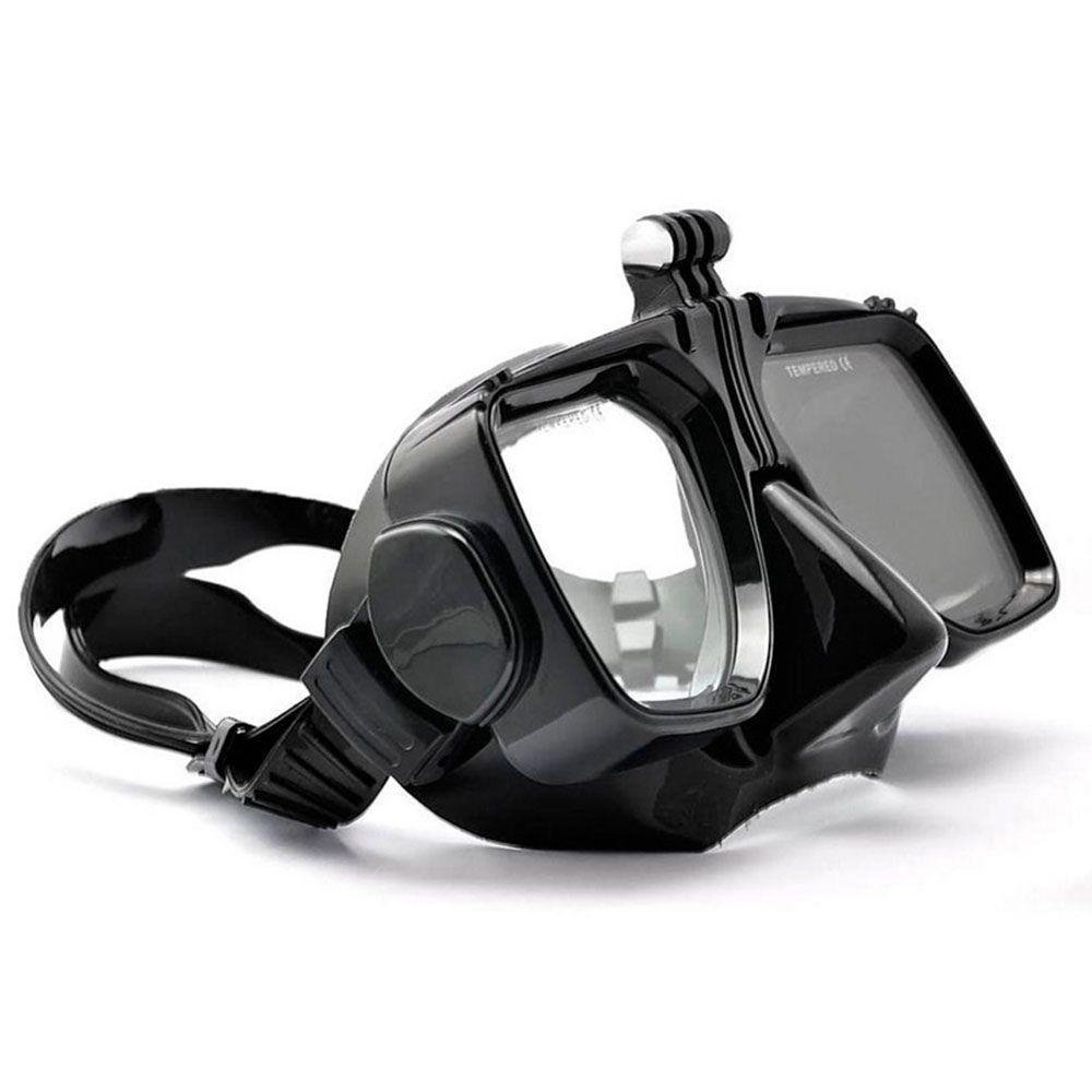 a20f5862b Máscara de Mergulho Óculos Preta para câmeras de ação GoPro SJCam - Shoot  R$ 90,00 à vista. Adicionar à sacola