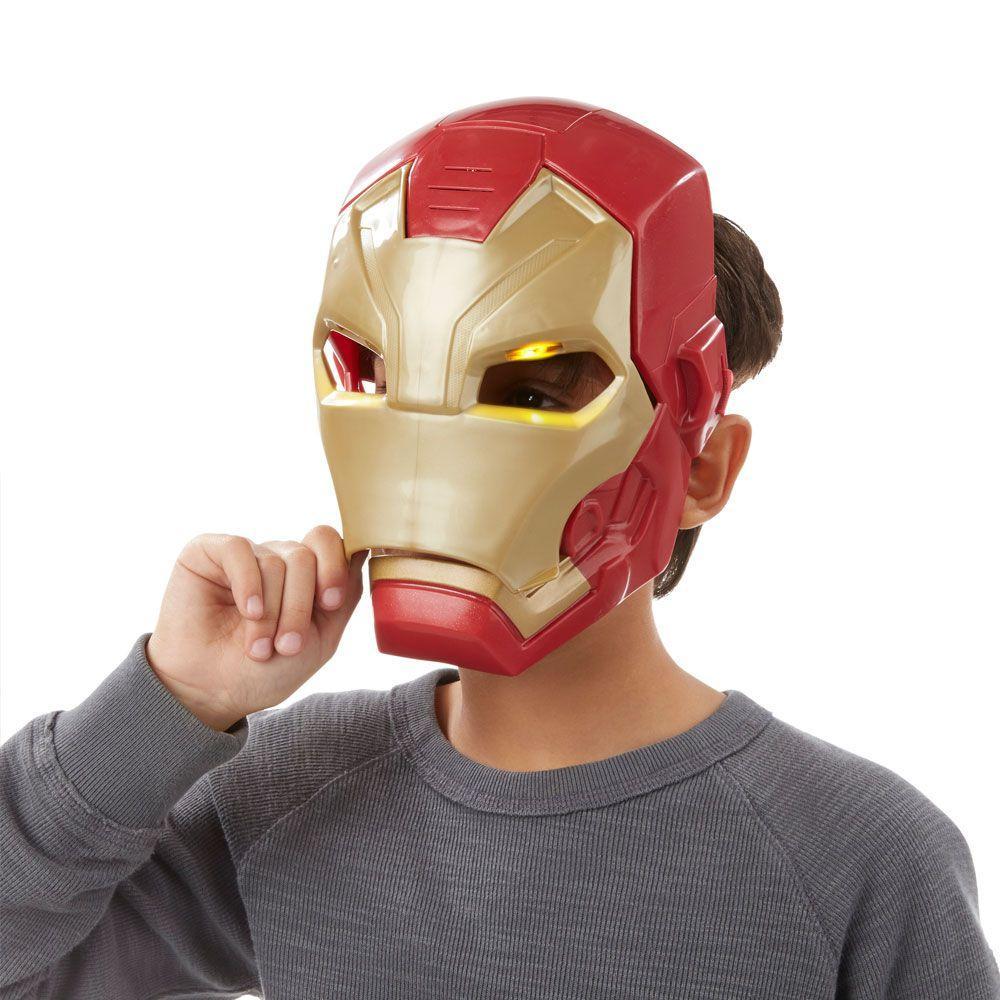4d412846795 Máscara Eletrônica - Marvel - Capitão América Guerra Civil - Homem de Ferro  - Hasbro - Disney R  189
