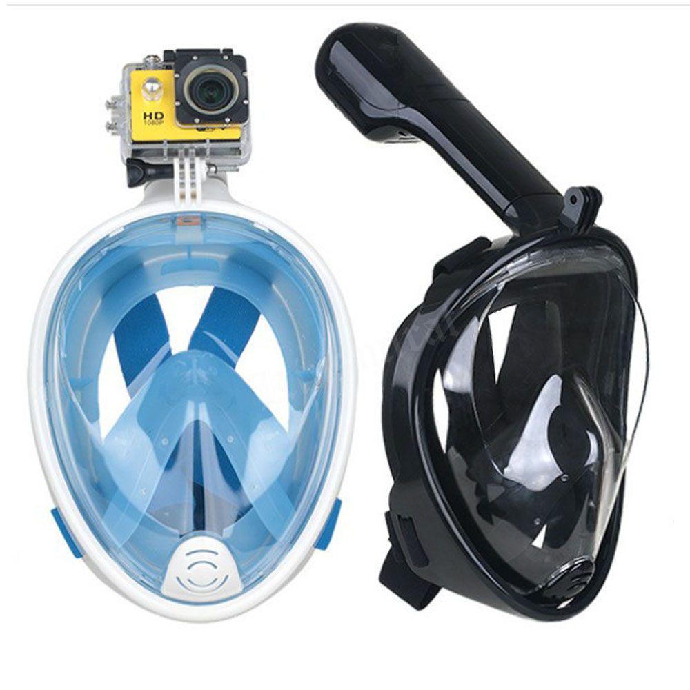0e81bdcb8 Mascara Mergulho Full Face C  Suporte Gopro Azul G GG L XL - Bola azul R   210