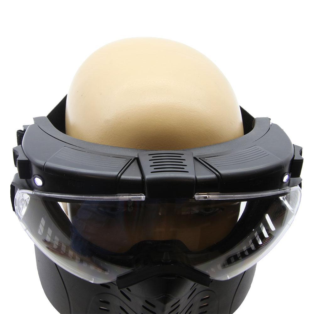 895f0f89e Máscara Proteção Paintball Nautika Tático Ventz Com Led R$ 195,70 à vista.  Adicionar à sacola