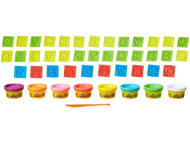 5e971058ce Massinha Play-Doh Letras Números e Diversão - Hasbro com Acessórios R   29