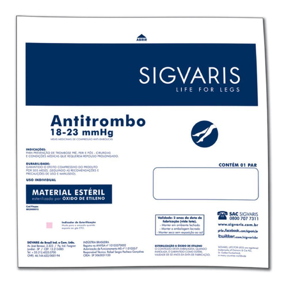 e19188889 Meia 7 8 Coxa AF 400S 18-23 Mmhg Anti-Trombo Ponteira Aberta - Sigvaris R   126