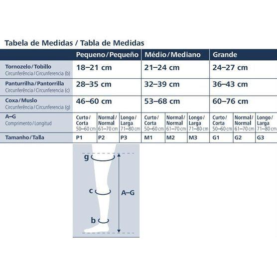 677534ee6 Meia 7 8 Coxa AF 863 Select Comfort Premium 30-40 mmhg Sem Ponteira Sigvaris  R  230
