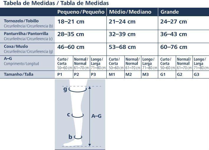 36fdd899e Meia 7 8 Sigvaris AF 862 Select Comfort Premium 20-30 mmHg Sem Ponteira  Natural R  238