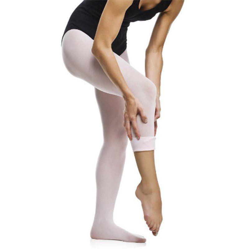 a0db728d5f Meia calça com pé conversível infantil rosa só dança - - - Magazine ...