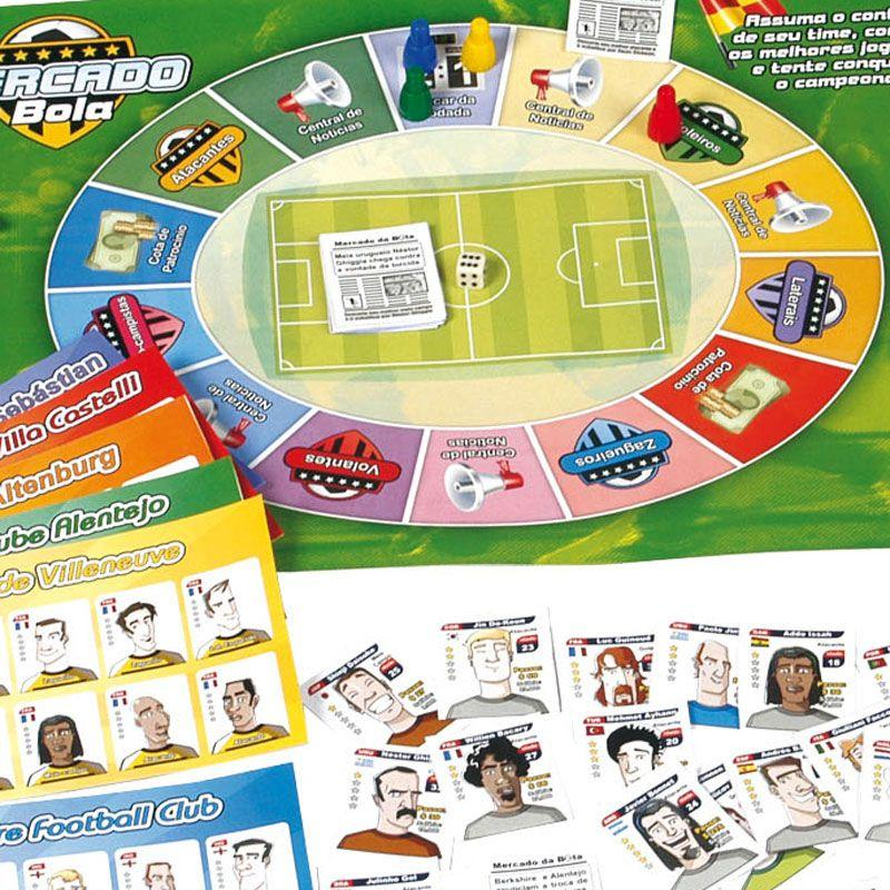56a61784d9 Mercado da Bola - NIG - Nig brinquedos - Jogos de Tabuleiro ...