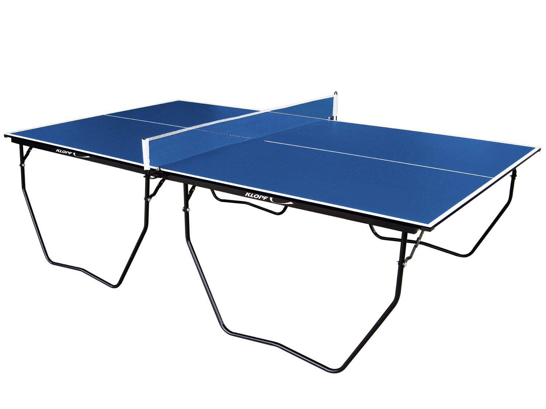 6ad896dbc6656 Mesa para Tênis de Mesa Dobrável com Rodízios - Klopf com Suporte e Rede -  Jogos de Mesa e Salão - Magazine Luiza