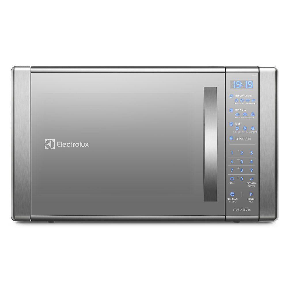 ca63a69b74fb8 Micro-Ondas Electrolux ME41X com Painel Touch on Glass e Função Grill 31  Litros R$ 939,00 à vista. Adicionar à sacola
