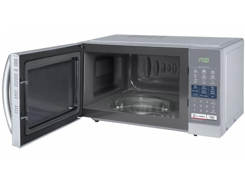310451fc8 Microondas LG Easy Clean 30 L Espelhado Grill 110V - MH7057Q Produto não  disponível