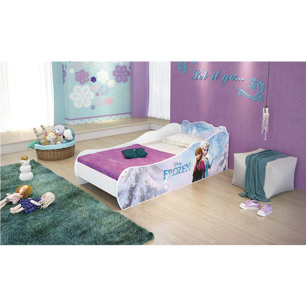 c2a6fdc41 Mini Cama Frozen Disney sem Torre Pura Magia - Pura Magia R$ 412,92 à  vista. Adicionar à sacola