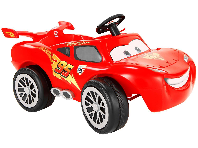 Mini Carro A Pedal Infantil Carros 2 Relampago Mcqueen
