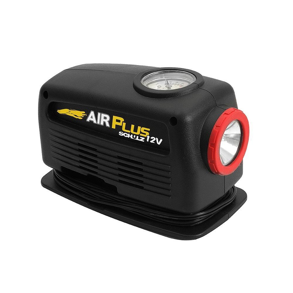 0dafb650e Mini compressor portátil analógico 12 volts - AIR PLUS - Schulz Produto não  disponível