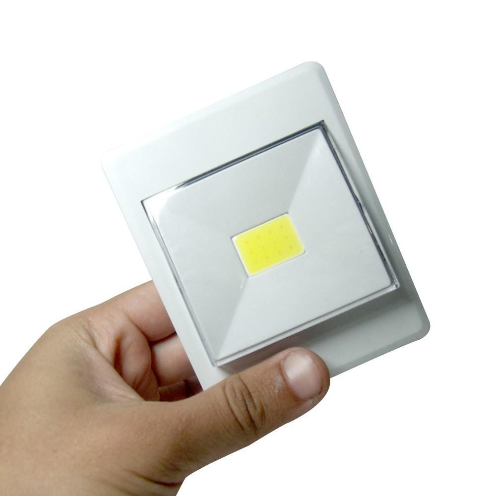Mini luminaria luz led para armario closet multifuncional - Luces led a pilas para armarios ...