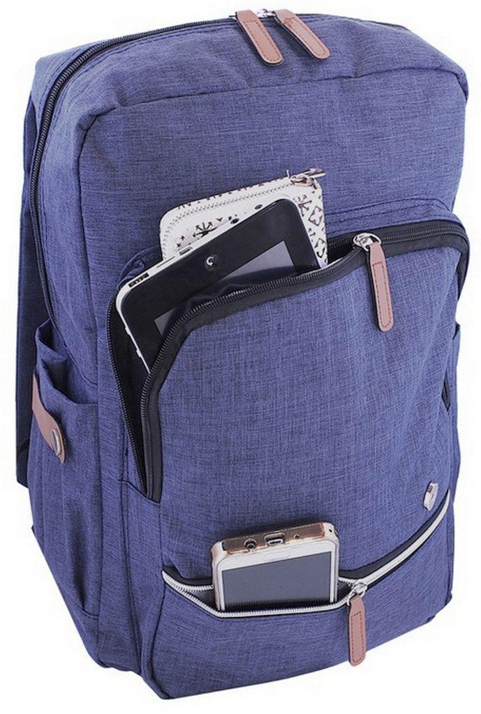 61e553290 Mochila Bolsa Lona Jeans Reforçada Sport Social Feminina - X.l dian fashion  R$ 79,99 à vista. Adicionar à sacola