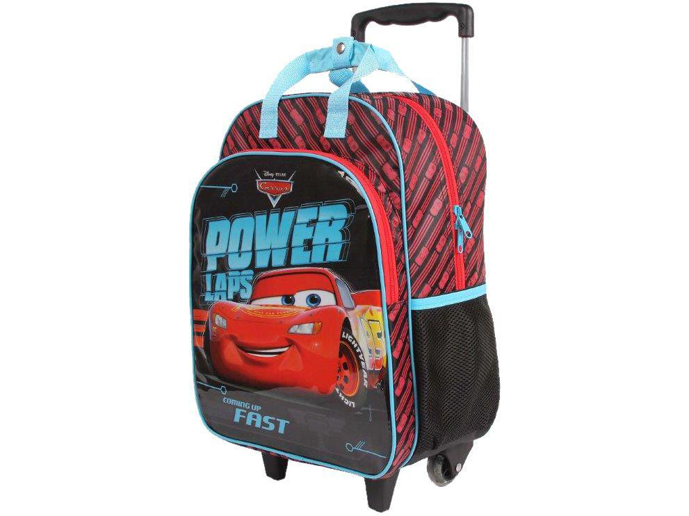 b3ef922f9 Mochila Infantil Escolar Masculina de Rodinha - Tam. G Dermiwil Max Disney  Pixar Carros R$ 168,90 à vista. Adicionar à sacola