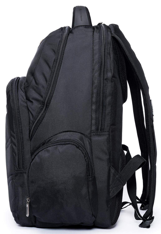 641e6dd5a Mochila Masculina Executiva Para Notebook Resistente Preta 22 litros -  Nytron R$ 129,90 à vista. Adicionar à sacola