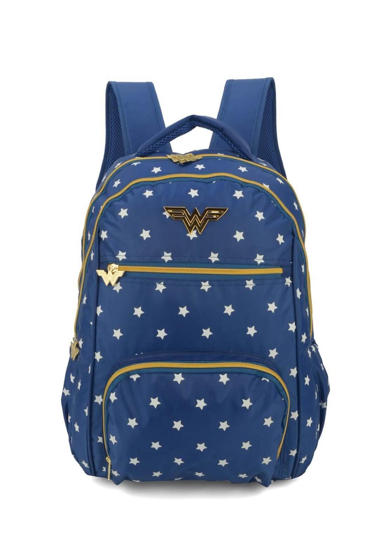 15ce59860 Mochila Mulher Maravilha Azul Porta Laptop Notebook Original - Wonder woman  Produto não disponível
