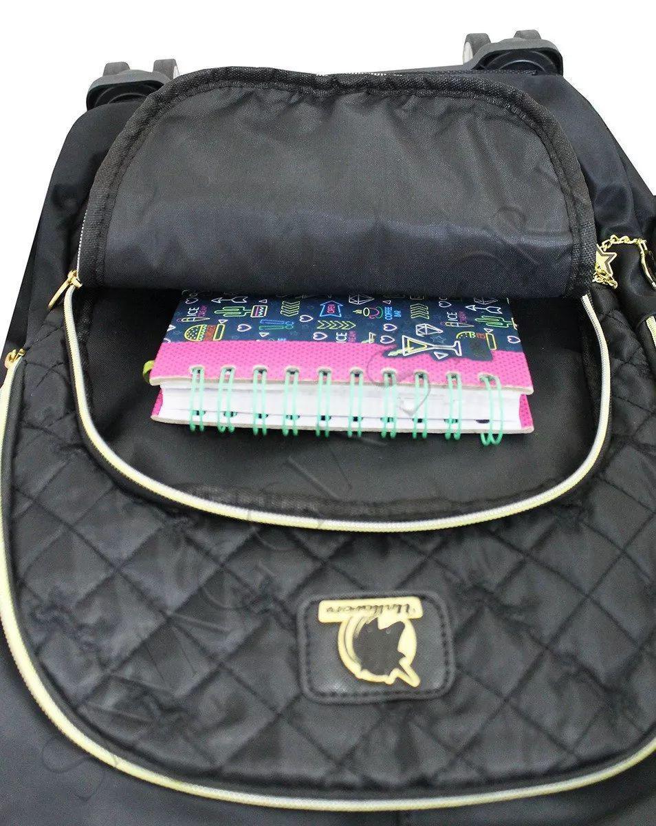 e3514e54c Mochila Rodinhas Feminina Unicórnio Escolar Notebook 360 Preta - Outras  marcas R$ 289,99 à vista. Adicionar à sacola